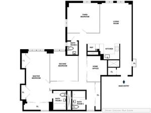 floorplan for 5 Tudor City Place #1833