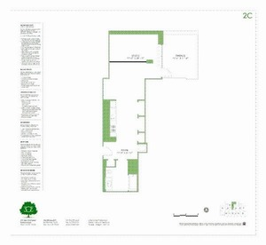 floorplan for 303 E 33rd Street #2C