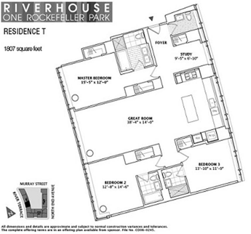 10t on Co Op City Floor Plans 1 Bedroom