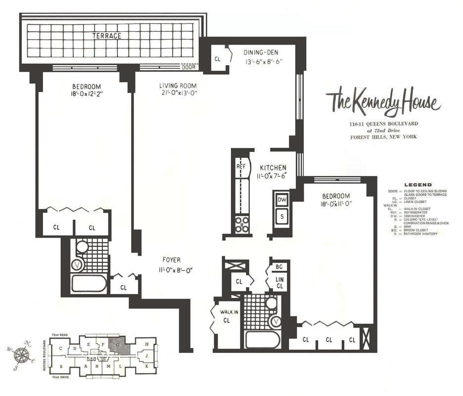 24 Manhattan Apartment Floor Plans The 11 Most: StreetEasy: Kennedy House At 110-11 Queens Boulevard In