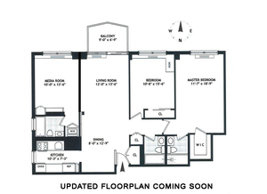 floorplan for 220 East 65th Street #9C