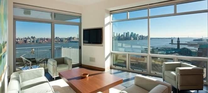 the w hoboken at 225 river st in hoboken sales rentals. Black Bedroom Furniture Sets. Home Design Ideas