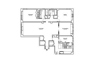 floorplan for 221 West 82nd Street #8G