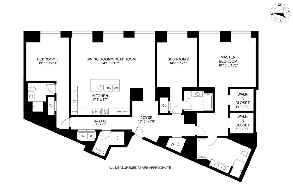 Streeteasy 10 madison square west in flatiron 5f for 10 madison square west floor plans