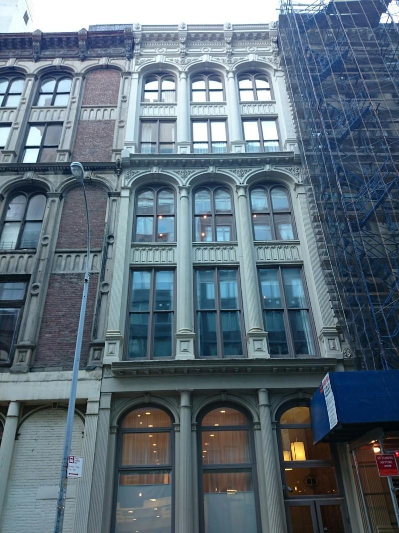 85 Leonard Street Building at 85 Leonard St. in Tribeca : Sales ...