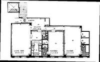 floorplan for 444 Central Park West #16E