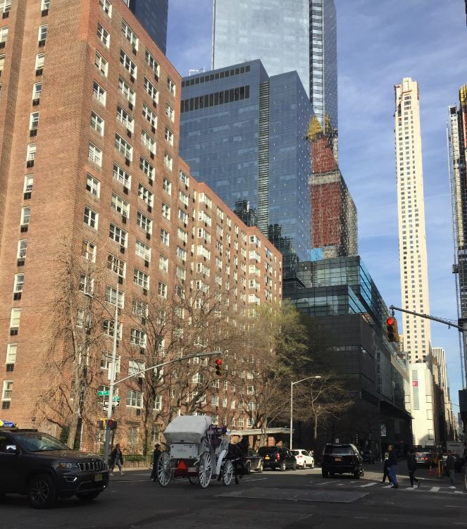 Apple Ridge Apartments: 345 West 58th Street #9ML In Lincoln Square, Manhattan