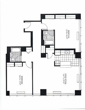 floorplan for 50 Murray #1412