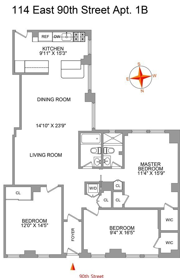 Property Report for 114 E 90th St #3D, 10128 | RealDirect