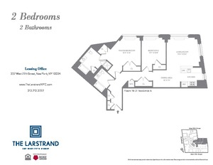 floorplan for 227 West 77th Street #21A