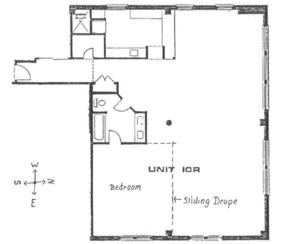 floorplan for 7 East 20th Street #10R