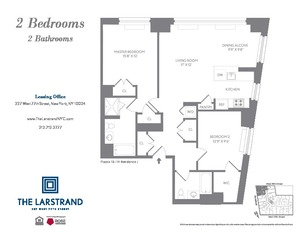 floorplan for 227 West 77th Street #11J