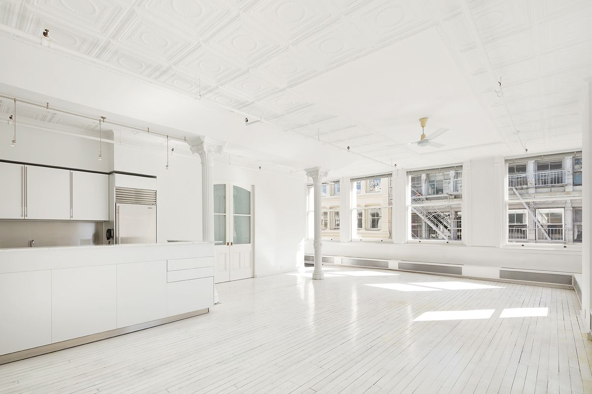 Collectible Style In A One Bedroom Nyc Apartment: 15-17 Greene Street #5 In Soho, Manhattan