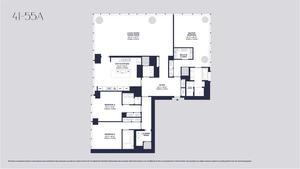 floorplan for 157 West 57th Street #46A