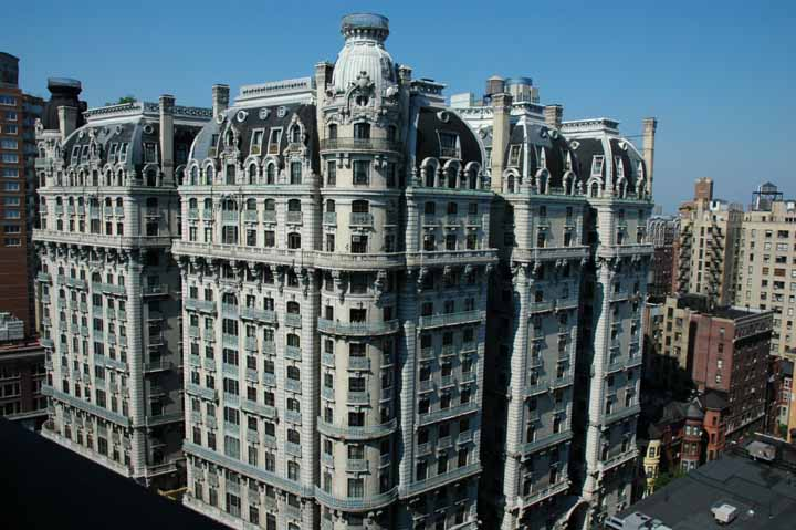 Ansonia hotel at 2109 broadway in upper west side sales for Upper west side apartments nyc