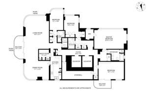 floorplan for 52 East End Avenue #26