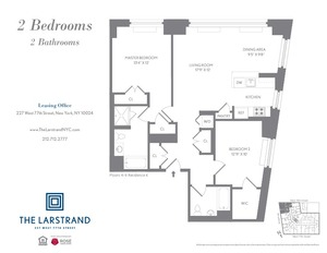 floorplan for 227 West 77th Street , #6K