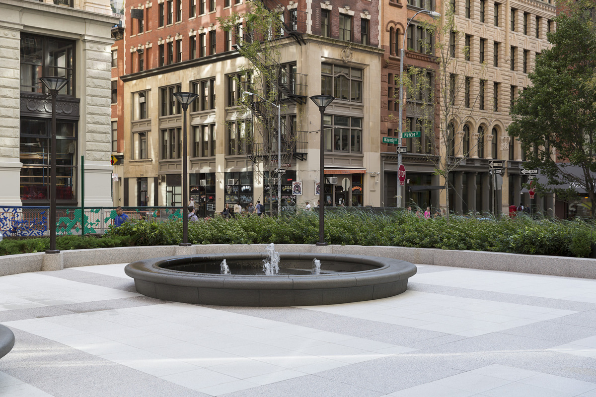 The Hilary Gardens At 300 Mercer St In Greenwich Village