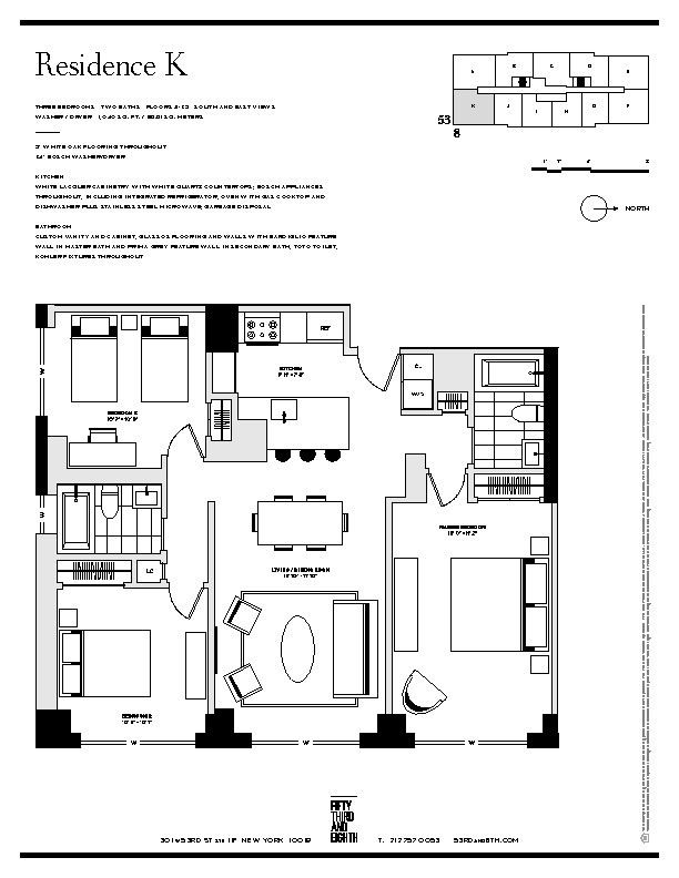 Hells Kitchen Floor Plan