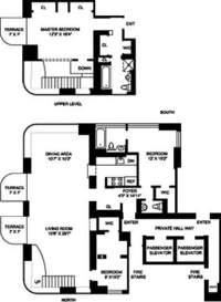 floorplan for 52 East End Avenue #15AC