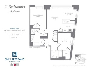 floorplan for 227 West 77th Street , #11J