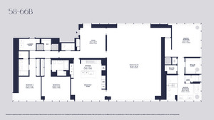 floorplan for 157 West 57th Street #60B