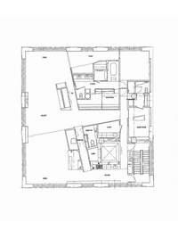 floorplan for 1 Main Street #14