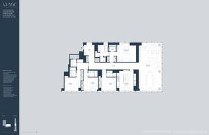 floorplan for 157 West 57th Street #46C