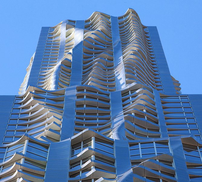New York City Apartment Streets: New York By Gehry At 8 Spruce St. In Fulton/Seaport