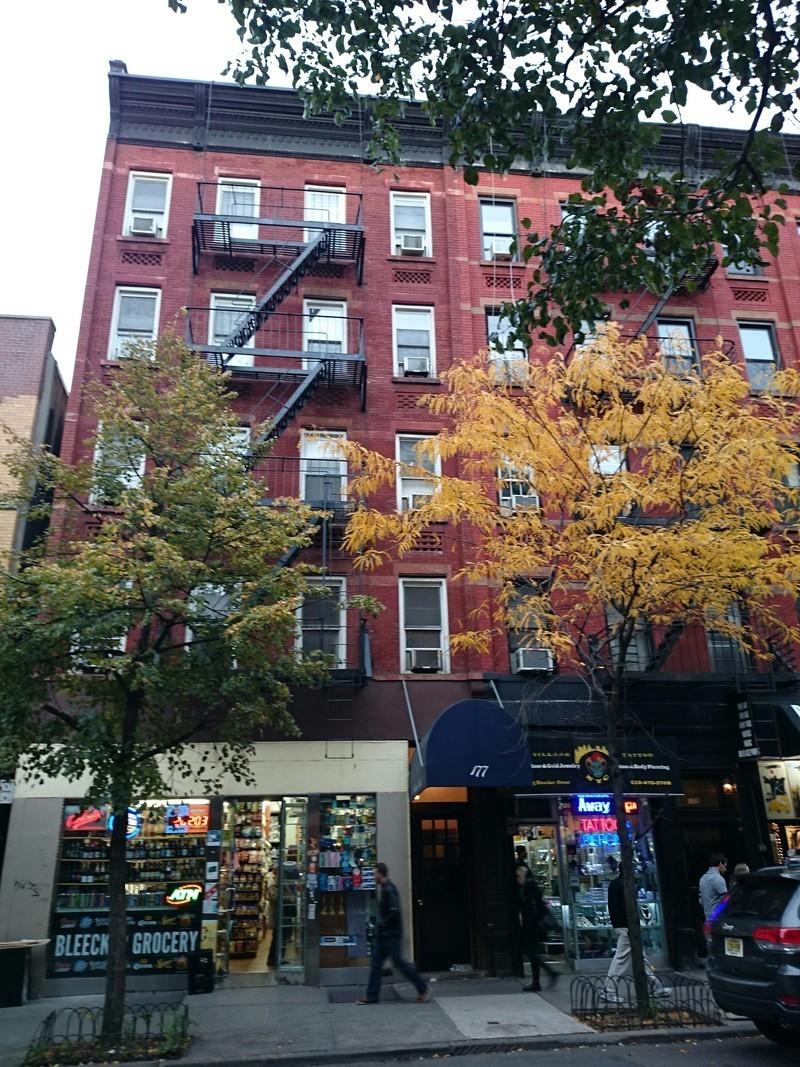 177 Bleecker Street in Greenwich Village, Manhattan ...