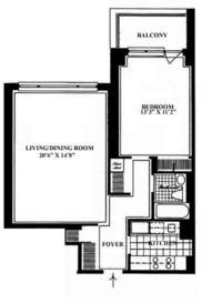 floorplan for 30 East 85th Street
