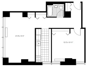 floorplan for 50 Murray Street #0002